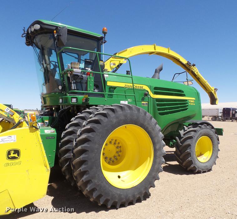 2015 John Deere 7380 forage harvester