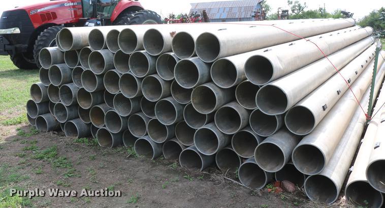 (68) aluminum flood irrigation pipes