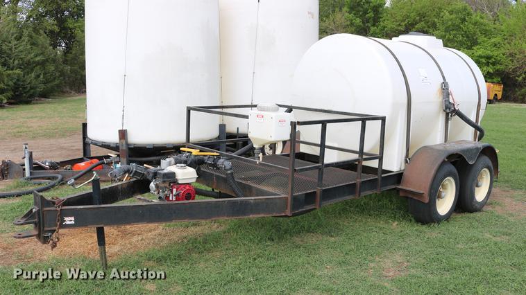 Nurse tank trailer