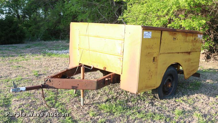 Stahl utility bed trailer