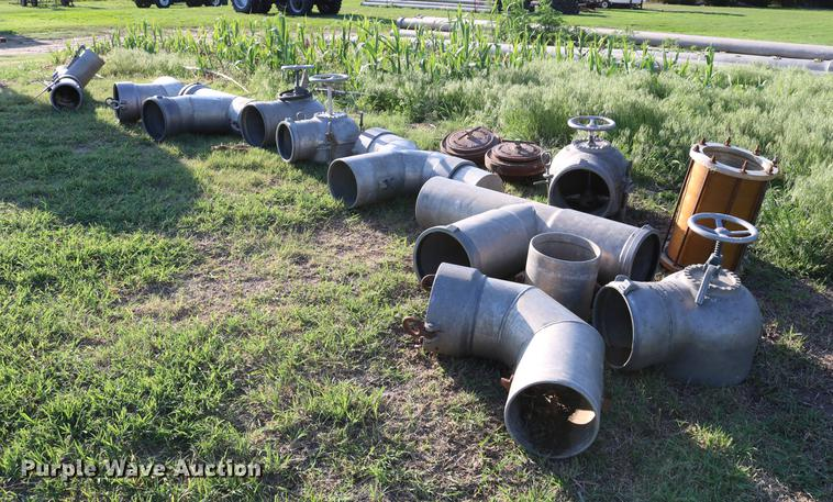 Irrigation pipe and fittings