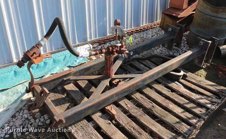Frame and anhydrous ammonia parts
