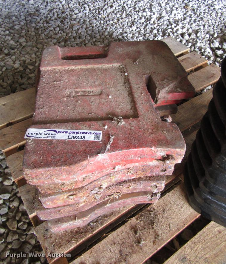 (6) suitcase weights