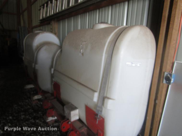(2) poly saddle tanks