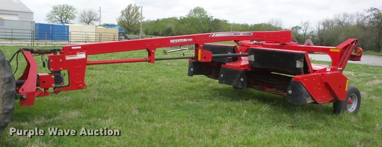 2012 Massey Ferguson Hesston 1372 windrower