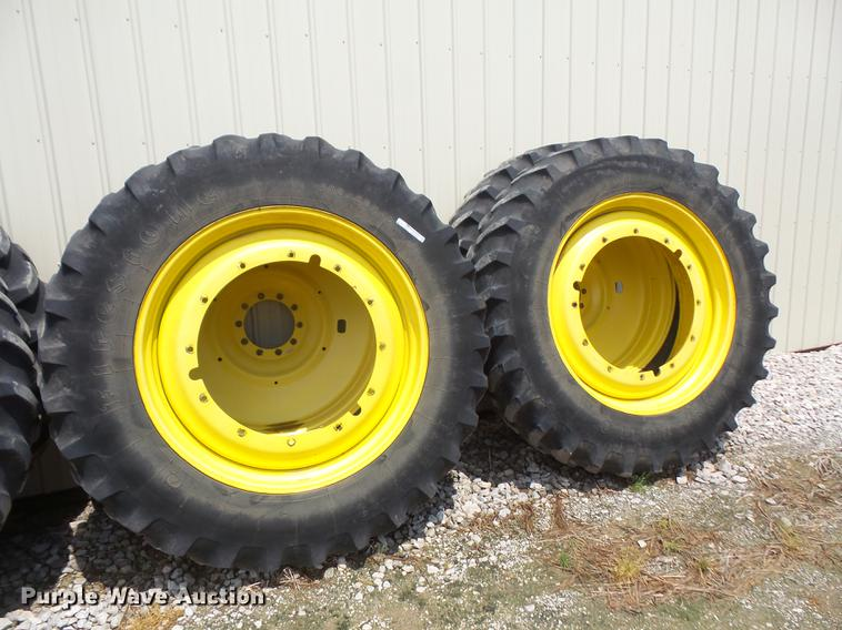(4) tires and wheels