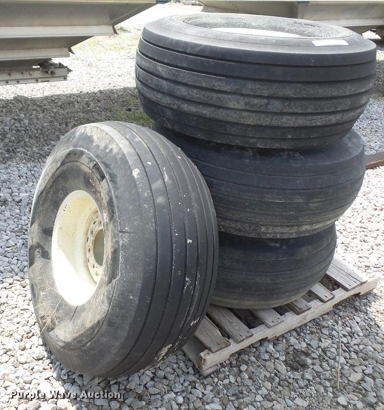 (4) Titan 16.5-16.1 tires and wheels