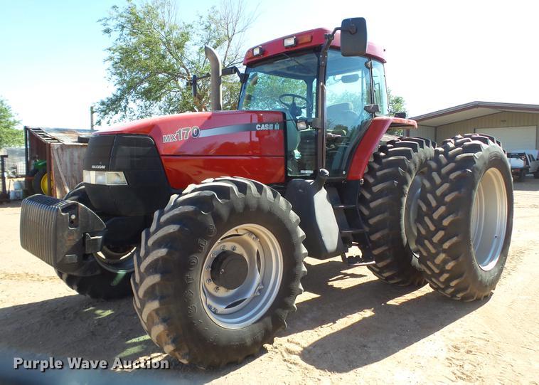 2002 Case IH MX170 MFWD tractor