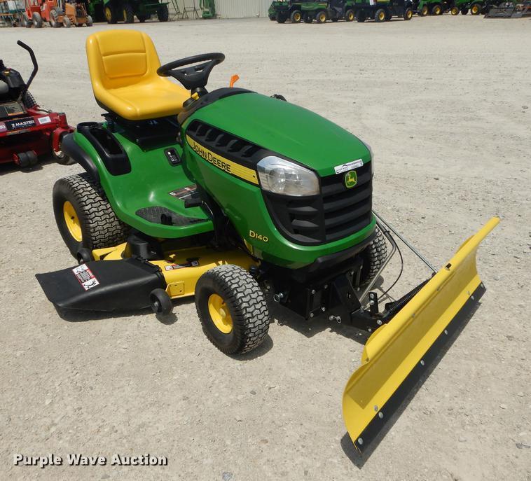 John Deere D140 lawn mower