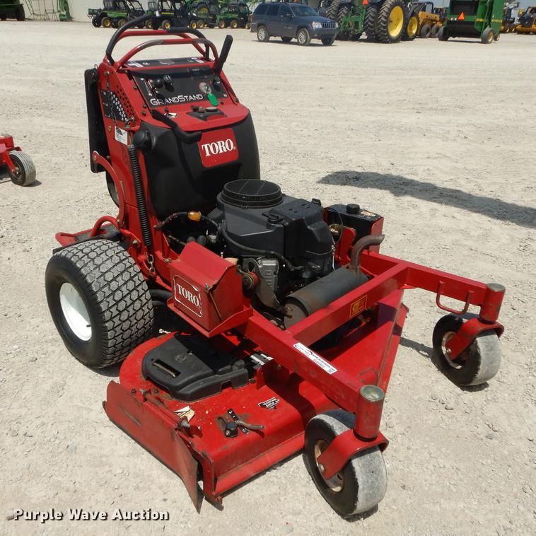 Toro Grand Stand lawn mower