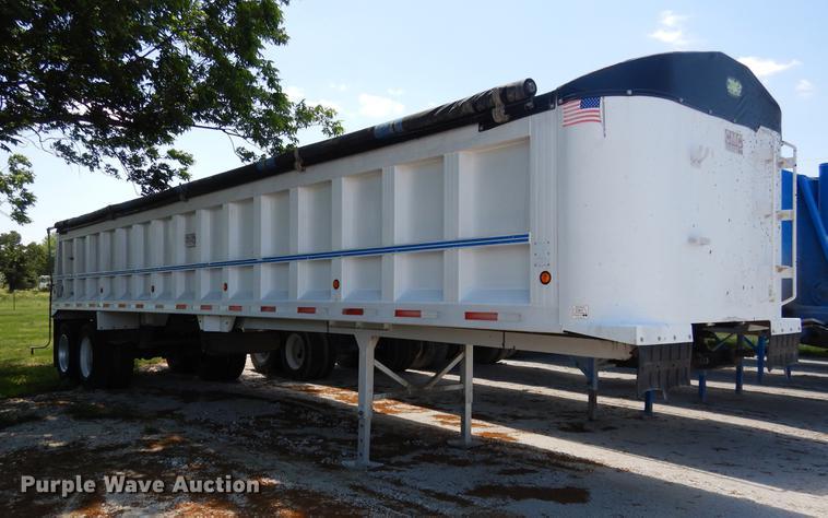 1996 CMC T102 end dump trailer
