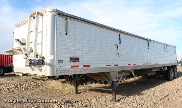 2016 Timpte Super Hopper double hopper bottom grain trailer