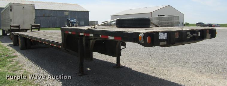1993 Trailmobile F73T-6JEA drop deck equipment trailer