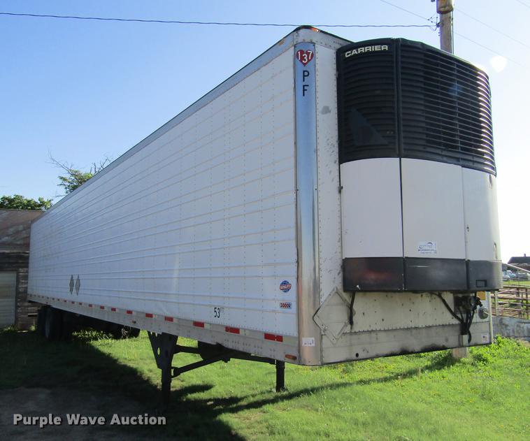 2006 Utility 3000R refrigerated van trailer