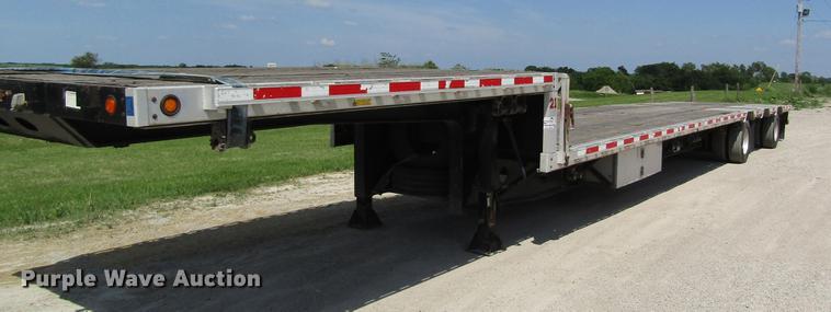 2007 Doonan 532DB16GYS1 drop deck trailer