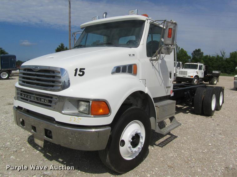 2003 Sterling Acterra M8500 truck cab and chassis