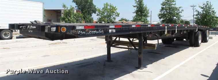 2012 Fontaine HAVSF12WSA flatbed trailer