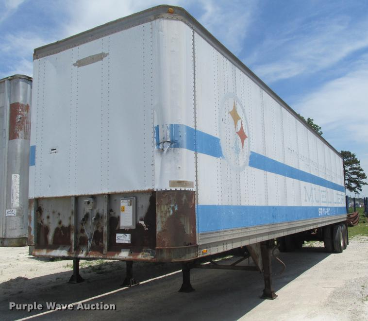 1980 Trailmobile 011A-25AW dry van trailer