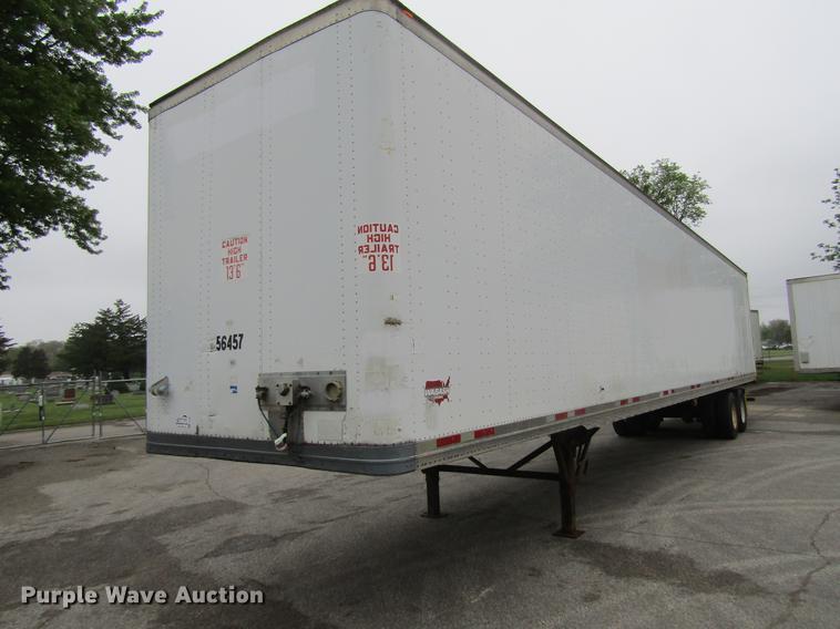 2006 Wabash DVLHHSA dry van trailer