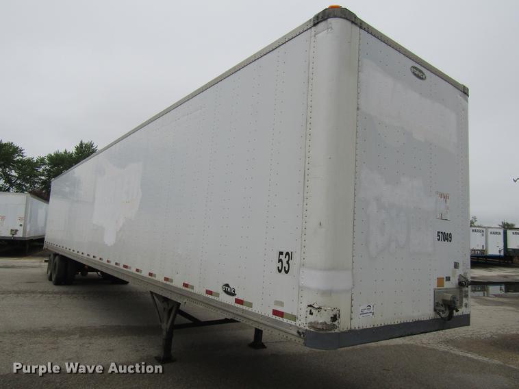 2005 Strick dry van trailer