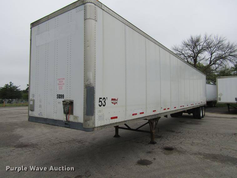 2004 Wabash National dry van trailer