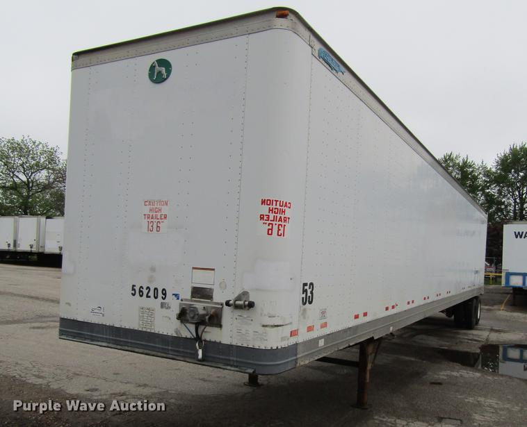 2004 Great Dane dry van trailer
