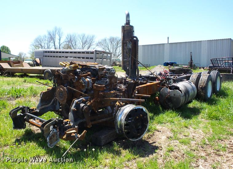 2009 Kenworth T660 truck chassis