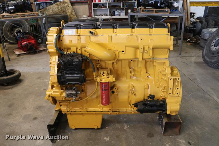 Caterpillar C15 six cylinder turbo diesel engine