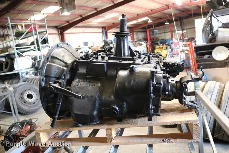 Meritor 10 speed manual transmission