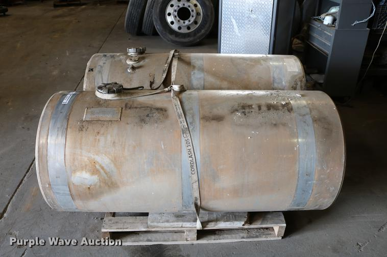 (2) Carolina Tank Corp. aluminum fuel tanks