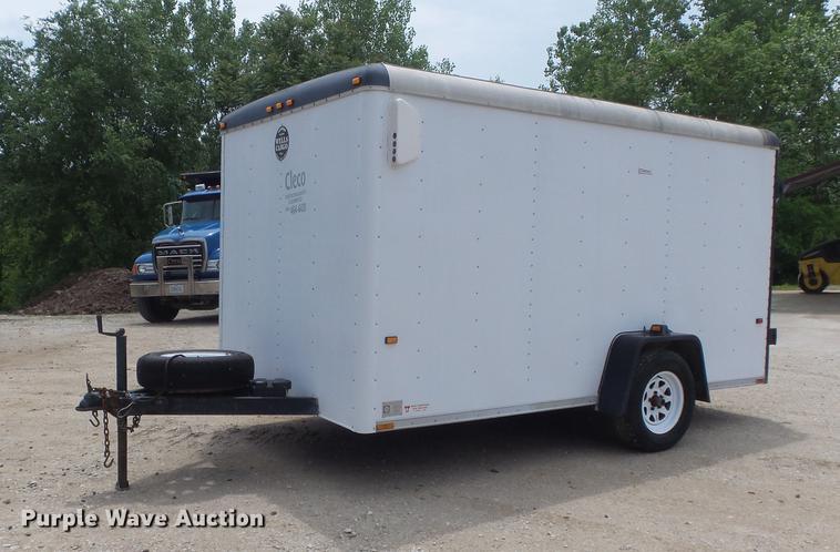 1995 Wells Cargo CW121-102 enclosed cargo trailer