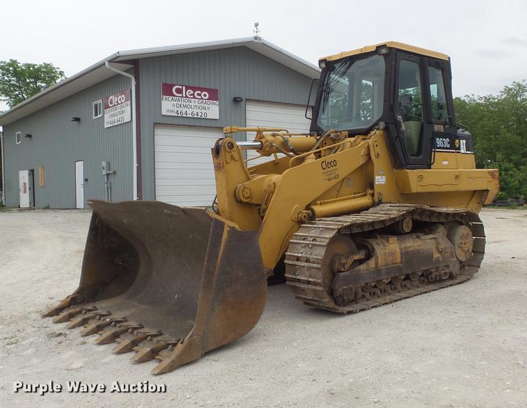 2001 Caterpillar 963C track loader
