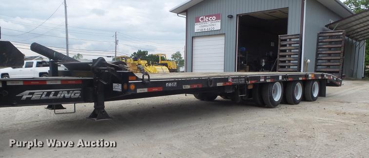 2016 Felling FT-50-3LP equipment trailer