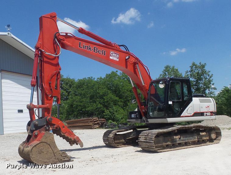 2015 Link Belt 210 X3 excavator