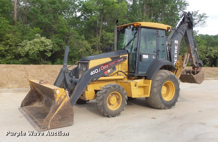 2008 John Deere 410J backhoe