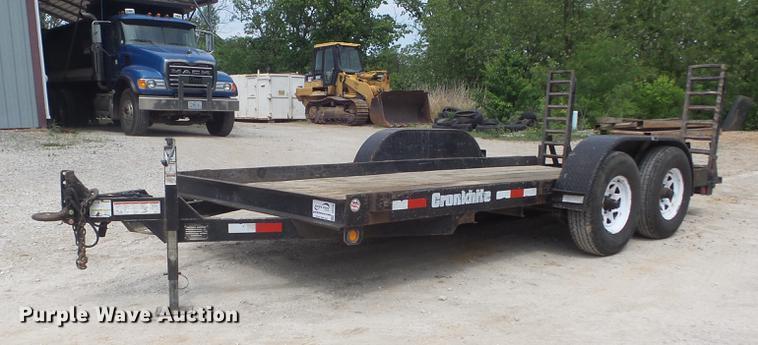 2003 Cronkhite 2600EWA utility trailer