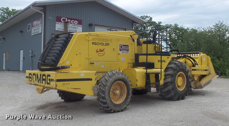 2011 Bomag MPH362R-2 recycler / stabilizer