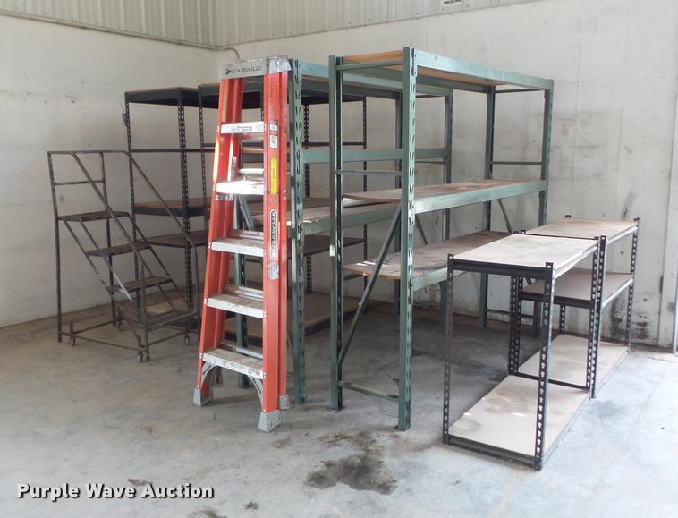 (6) shelves