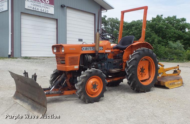 Kubota L185DT MFWD tractor