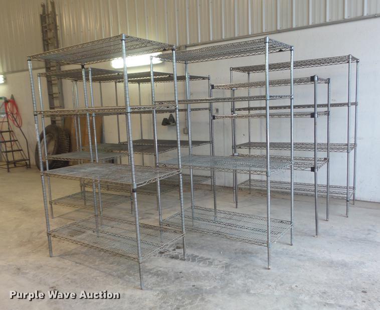 (7) shelves