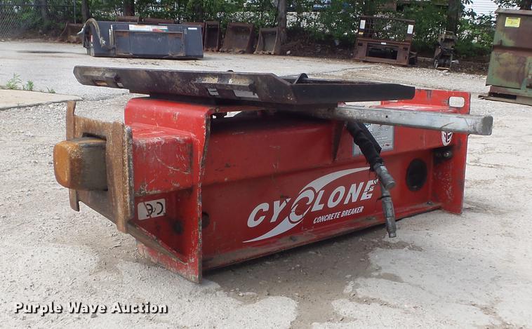 Cyclone concrete breaker