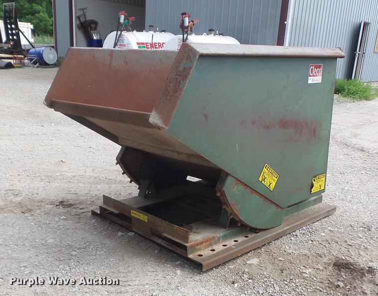 Jesco 211346 self-dumping hopper