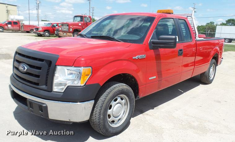 2012 Ford F150 SuperCab pickup truck