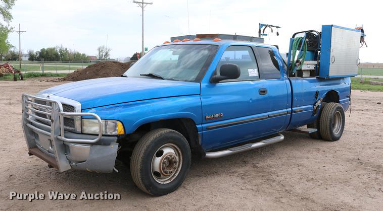 1999 Dodge Ram 3500 Quad Cab pickup truck