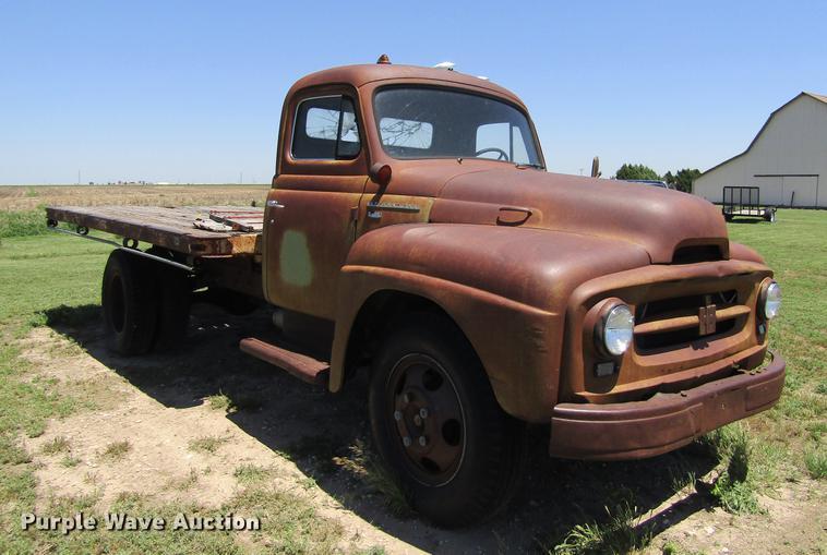 1954 International R160 dump flatbed truck