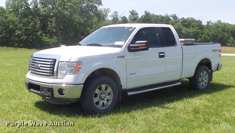 2011 Ford F150 XLT SuperCab pickup truck