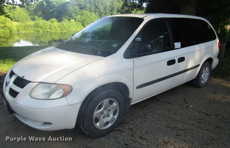 2002 Dodge Grand Caravan van