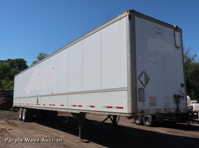 2000 Wabash dry van trailer