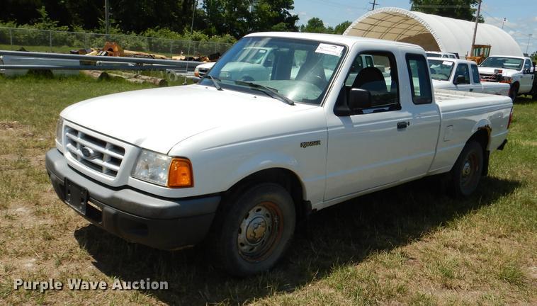 2001 Ford Ranger SuperCab pickup truck
