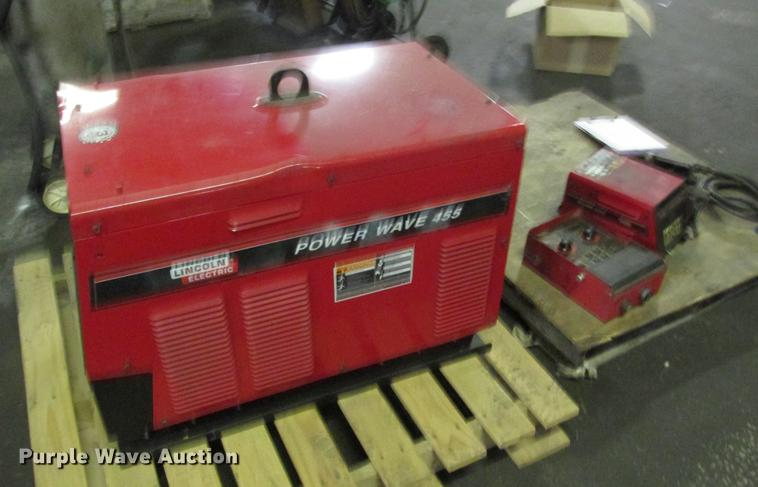 Lincoln Electric Power Wave 455 mig welder